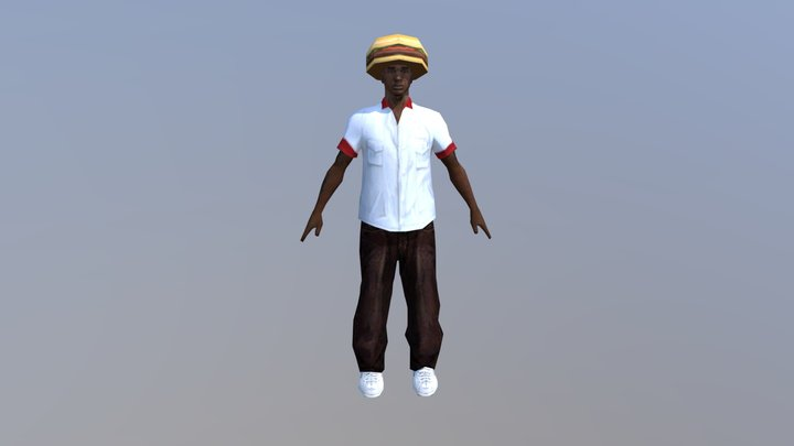 Ogloc Burger 3D Model