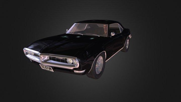 Car Driver O B J 3D Model