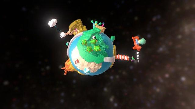 Hello World 3D Model