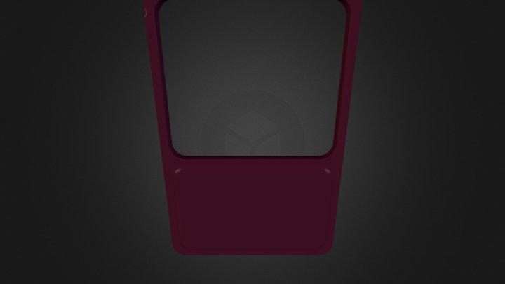 K67 Kiosk Element - Display Filler 3D Model