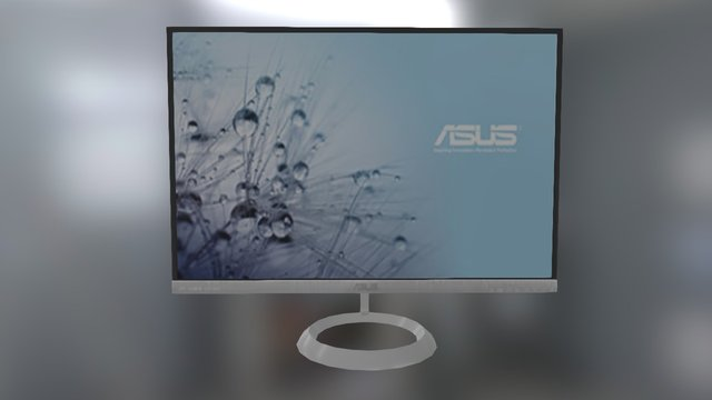 Asus Monitor 3D Model