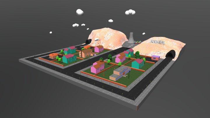 Mapa final Simpson 3D Model