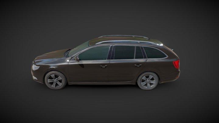 Modern Combi Car 3D Scan 3D Model