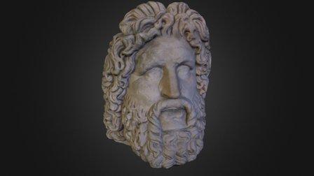 Head of Zeus 3D Model