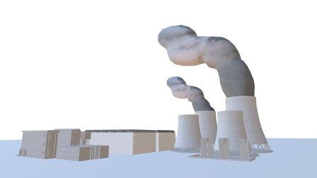 Air Contamination 3D Model