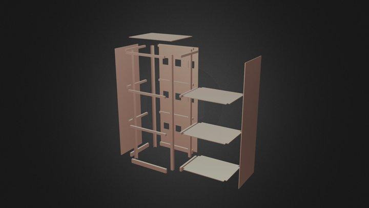 Design Servidor 3D Model