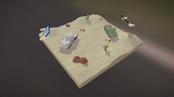 WoT entry, by Tobias Røvik 3D Model