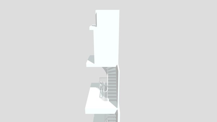 Elgin stair 3D Model