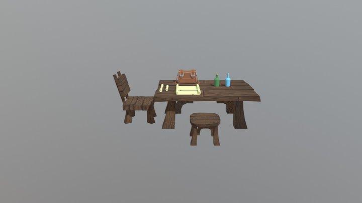Lowpoly_Props 3D Model