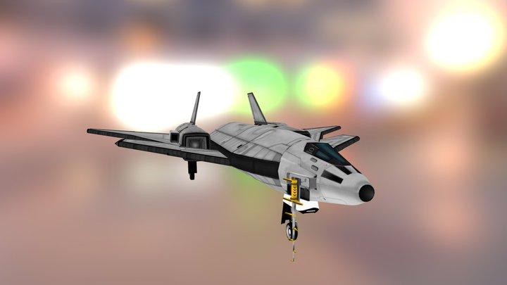 Blackbird B-X02b Raven Mk2 3D Model