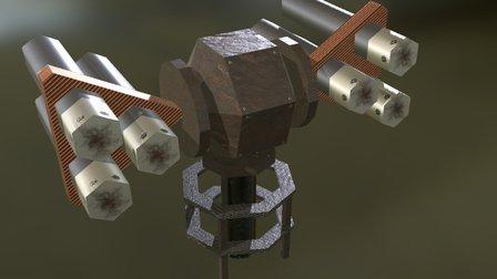 Bellato HQ - Sentry Tower 3D Model