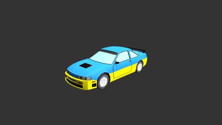 Racing Car Nismo 3D Model