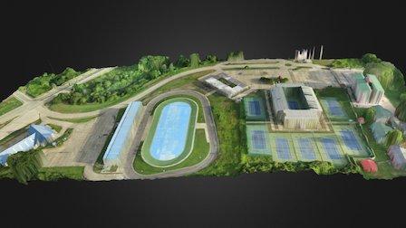 Patinodromo-villa-olimpica-sjm-venezuela 3D Model