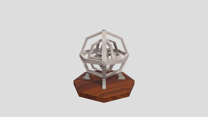 Giroscópio 3D Model