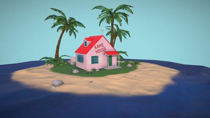 Kame House 3D Model