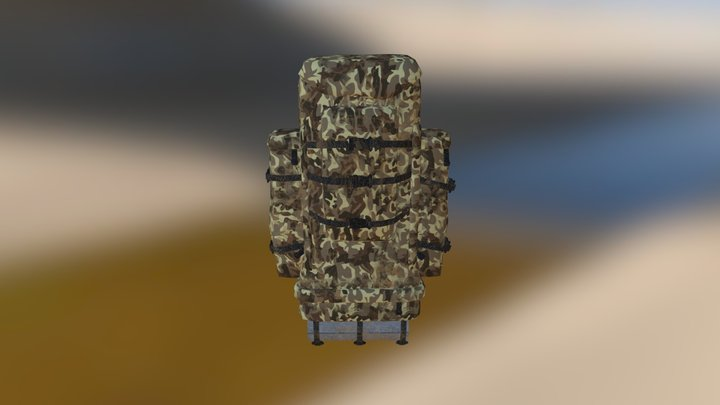 Backpack-3_autmn 3D Model