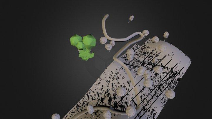 Hills Island 3D Model