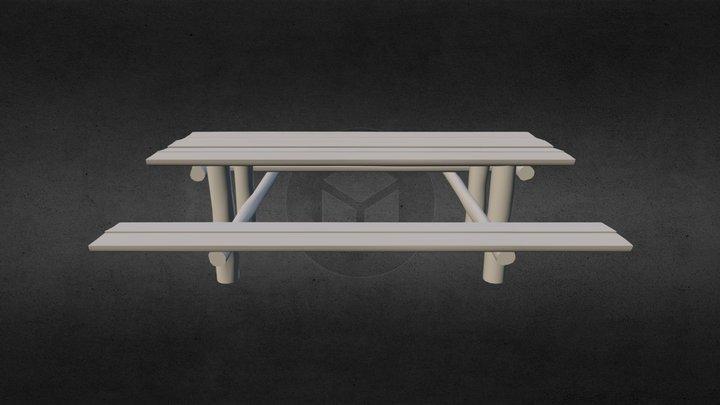 Mesa de Piquenique 3D Model