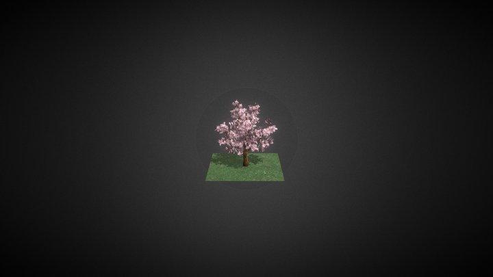 Cherry_Blossom_Individual_Export 3D Model