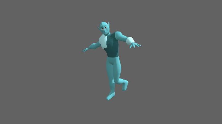 Ptah. 3D Model