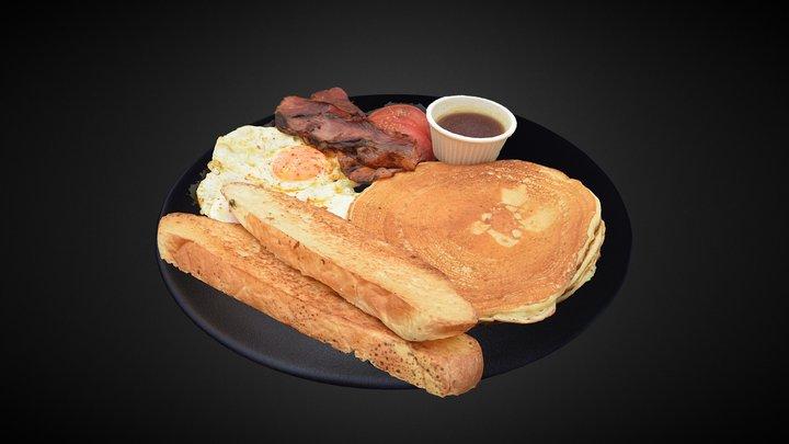 Pancakes- Soulfood 3D Model
