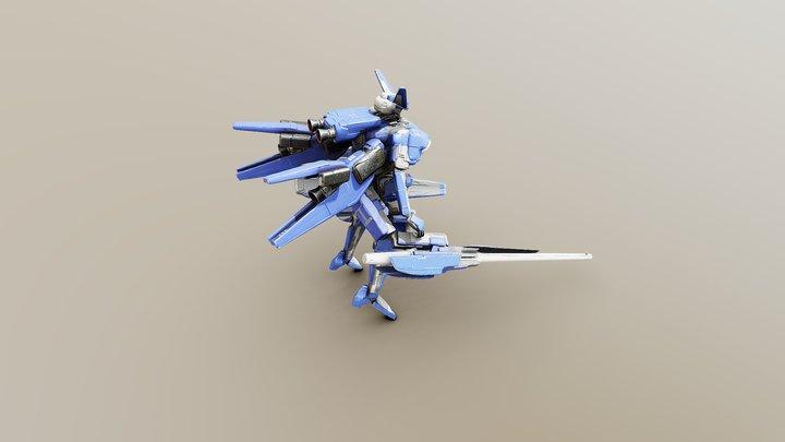 Prototype [OMEGA-BLADE] 3D Model