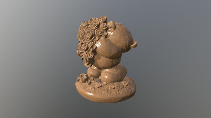 Bear Ornament 3D Scan 3D Model