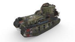 "Medium Mark A ""Whippet"" tank 3D Model"