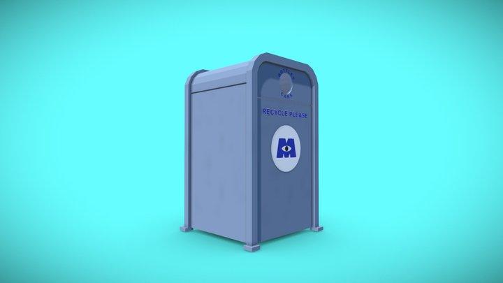 Monsters Inc Recycle Bin