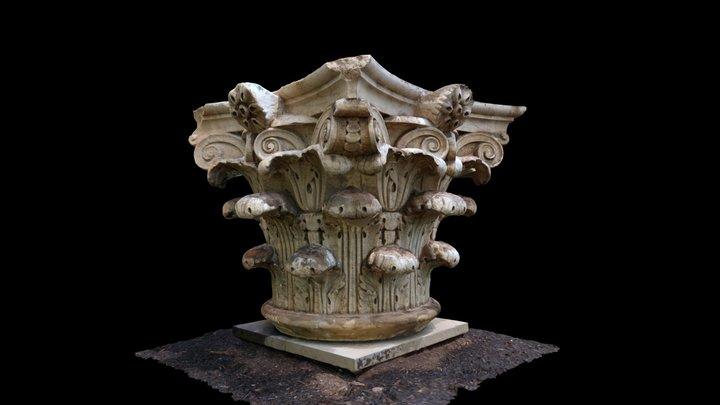 Rotunda Column Capital #2 3D Model