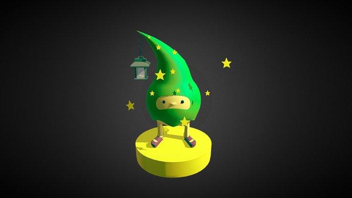 Stars Keeper 3D Model