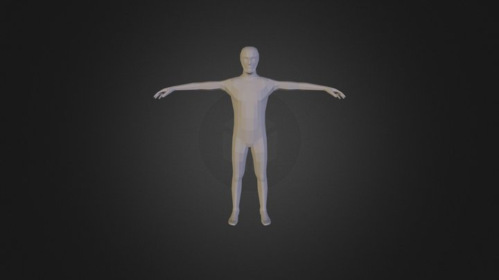 Base mesh, polygon modeling 3D Model
