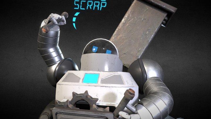 BOTbot - Space-E 3D Model