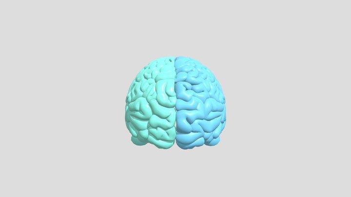 Brain Crush Brain V2 3D Model