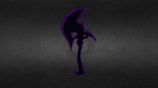 Devil Slayer Ax 3D Model