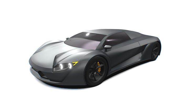 Automotive Design 3D Model