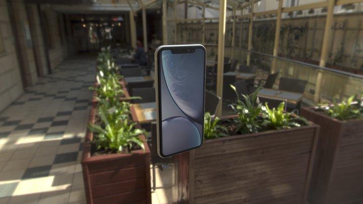 iPhone Xr 3D Model