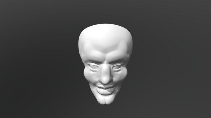 handsome squidward head 3D Model