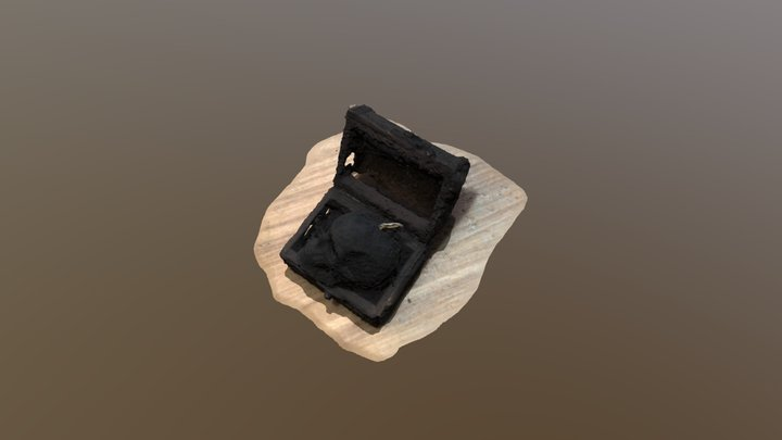 Old Chest 3D Model