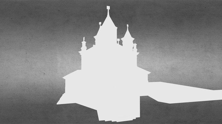 Basilica de Nuestra Señora del Patrocinio 3D Model