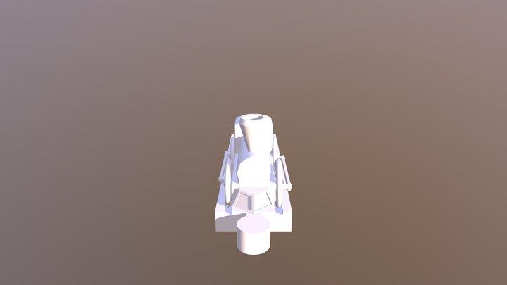1 Track 3D Model