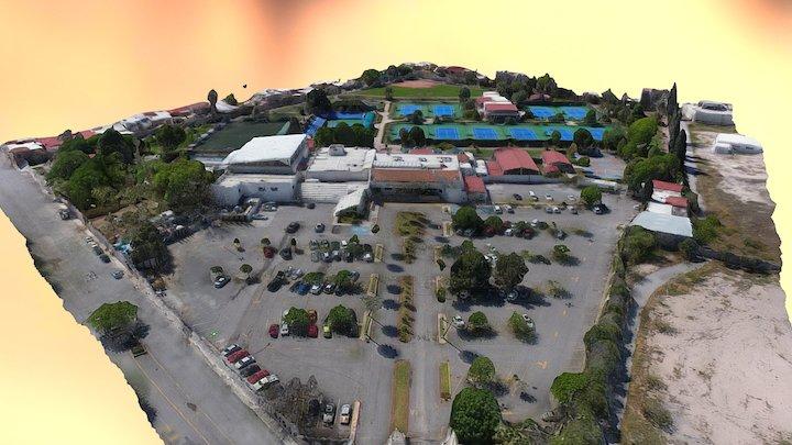 Club Deportivo San Isidro, Saltillo 3D Model
