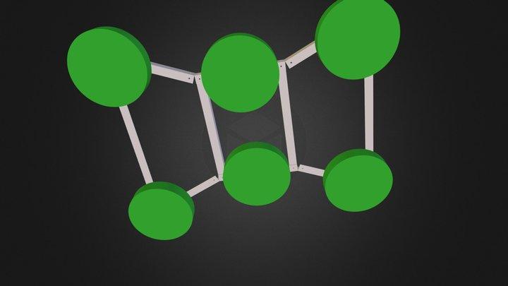 HexaCopter Entwurf 1 3D Model