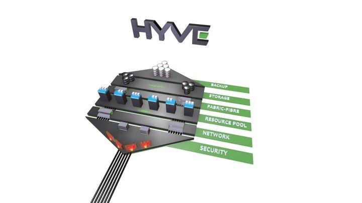 Hyve Cloud Infrastructure 3D Model
