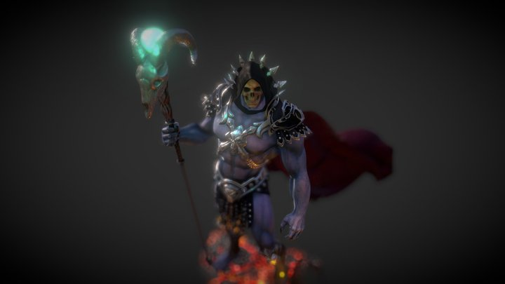 The Dark Lord 3D Model
