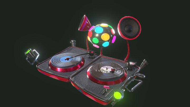 Milla's Party Box from Psychonauts - ITROR 3D Model