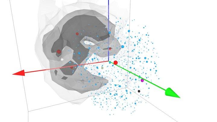 Cosmography of the Local Void versus NAM orbits 3D Model