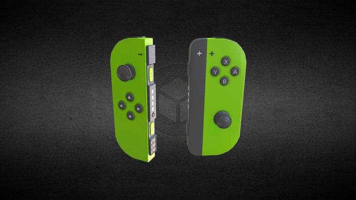 Joy-Con (Nintendo Switch) 3D Model