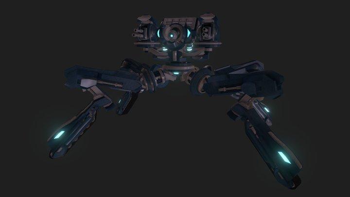 Walker Construct 3D Model