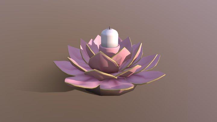 Prop Modelling: Candleholder 3D Model